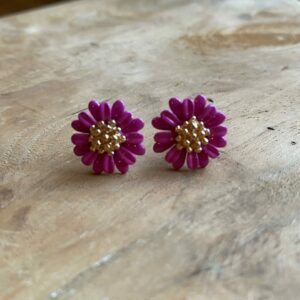 Fauve – Oorsteker met bloempje