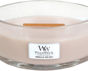 WoodWick® Elipse Candle – Vanilla & Sea Salt