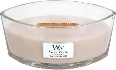 Woodwick Vanilla & Sea Salt Langwerpig
