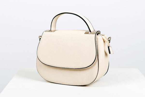 Phil Mpackage lederen crossbody beige