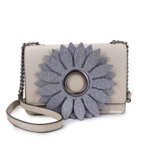 Giuliano Crossbody met mooie bloem – Britt