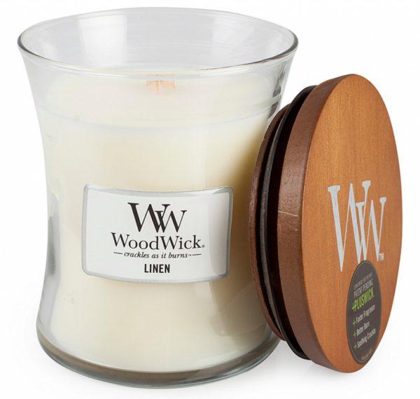 Woodwick Linen Medium
