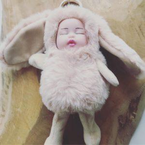 Dahlia – Sleutelhanger – Baby Konijntje