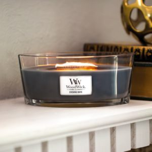 WoodWick® Ellipse Candle – Evening Onyx