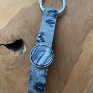 Cuoio handgemaakte sleutelhanger – Florentijns leer.
