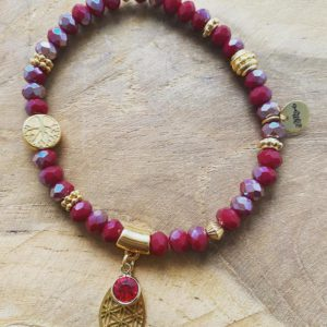 Handmade Armband – Red Love Collection