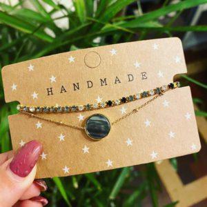 Handmade Armband Set- Stainless Steel