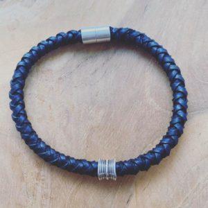 Wouter – Handgemaakte Lederen armband voor Mannen