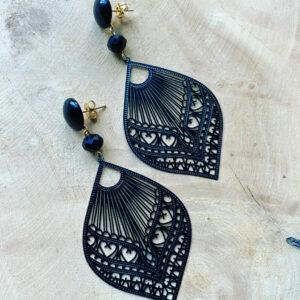 Damine – Handgemaakte filigraan oorringen.