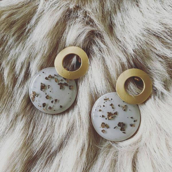 Dailana – Handgemaakte Epoxi oorsteker