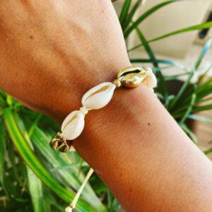 Selin – verstelbare, zomerse schelpen bandje.
