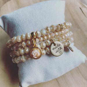 Alizé – Handgemaakte Armbanden Set.