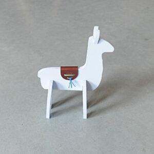 3D Alpaca – Pastelblauw