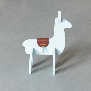 3D Alpaca – Pastelgroen
