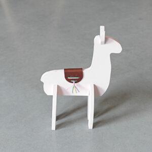 3D Alpaca – Pastelroze