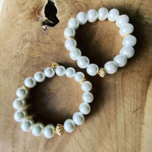 Perlina – Handgemaakte Armbanden set voor mama en dochter.