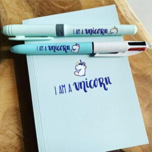 Bic – My Message Kit – I Am A Unicorn