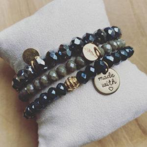 Marie Lou – Handgemaakte Armbanden Set.