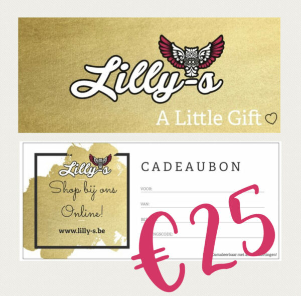 Lilly-s Cadeaubon – 25 euro