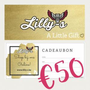 Lilly-s Cadeaubon – 50 euro