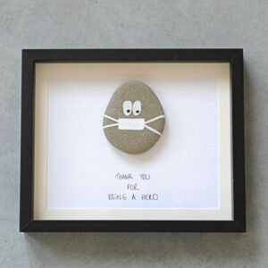 Kader Pebble Art – Thank You For Being A Hero