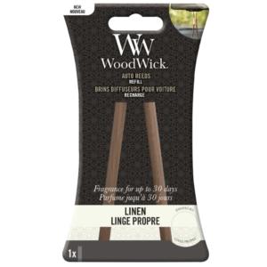 Woodwick- Auto Reeds Refill – Linen