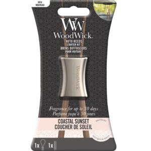 Woodwick- Auto Reeds Starter Kit – Coastal Sunset