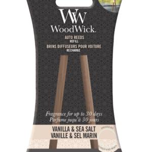 Woodwick- Auto Reeds Refill – Vanilla & Sea Salt