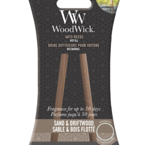 Woodwick- Auto Reeds Refill – Sand & Driftwood