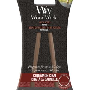 Woodwick- Auto Reeds Refill – Cinnamon Chai