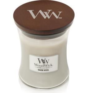 WoodWick® Medium Candle – Warm Wool