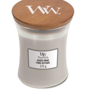 WoodWick® Medium Candle – Sacred Smoke