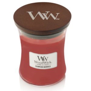 WoodWick® Medium Candle – Crimson Berries