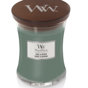 WoodWick® Medium Candle – Sage & Myrrh