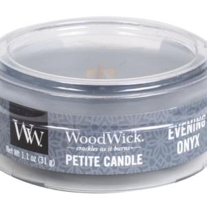 WoodWick® Petite Candle – Evening Onyx