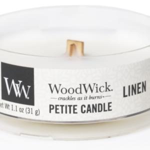 WoodWick® Petite Candle – Linen