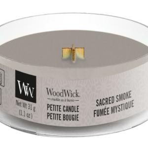 WoodWick® Petite Candle – Sacred Smoke
