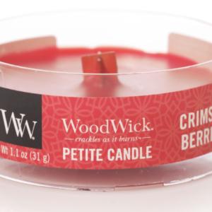 WoodWick® Petite Candle – Crimson Berries