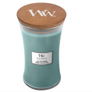 WoodWick® Large Candle – Blue Java Banana
