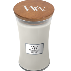 WoodWick® Large Candle – Warm Wool