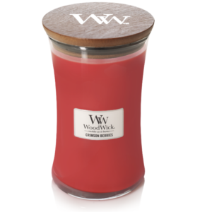 WoodWick® Large Candle – Crimson Berries