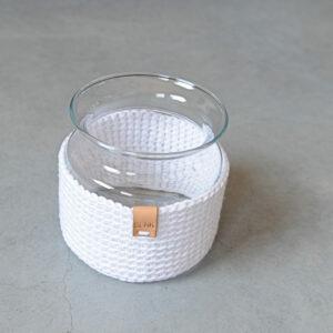Glazen Vaas 'Madam Crochet'